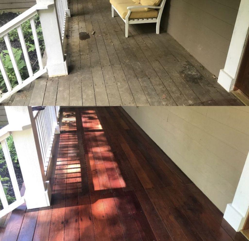 Deck Cleaning Cincinnati