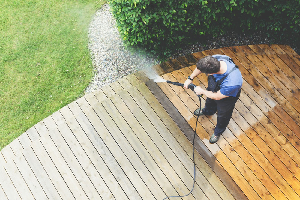 pressure washing professionals in Cincinnati